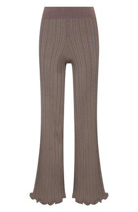 Женские брюки из вискозы ACNE STUDIOS светло-коричневого цвета, арт. AK0372 | Фото 1