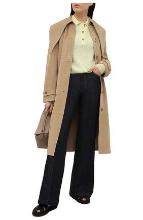 Женский шерстяной пуловер ACNE STUDIOS желтого цвета, арт. A60247 | Фото 2
