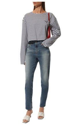 Женские джинсы AG синего цвета, арт. LED1575/18YDVY/MX | Фото 2