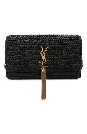 Женская сумка kate SAINT LAURENT черного цвета, арт. 604276/GG66W   Фото 1