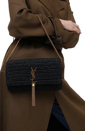 Женская сумка kate SAINT LAURENT черного цвета, арт. 604276/GG66W   Фото 2