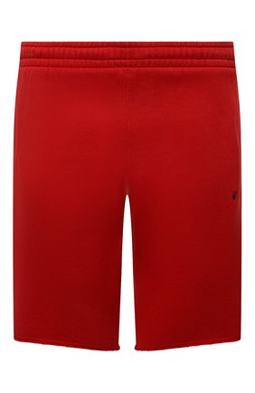 Мужские хлопковые шорты OFF-WHITE красного цвета, арт. 0MCI006S21FLE003 | Фото 1