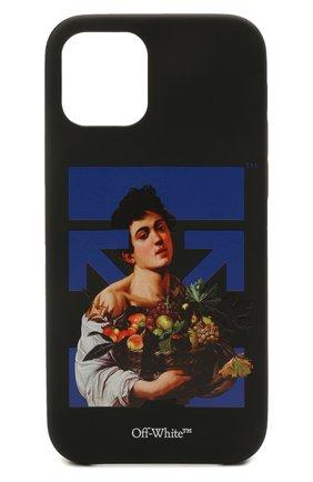 Чехол для iphone 12/12 pro OFF-WHITE черного цвета, арт. 0MPA026S21PLA006 | Фото 1