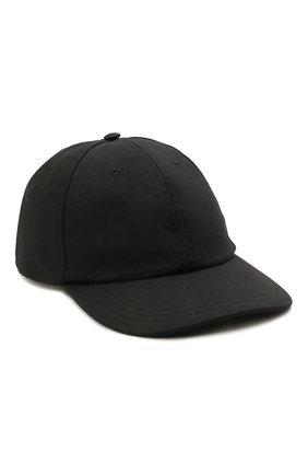 Мужской бейсболка CANALI черного цвета, арт. H041/YA00012 | Фото 1