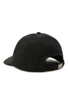Мужской бейсболка CANALI черного цвета, арт. H041/YA00012 | Фото 2