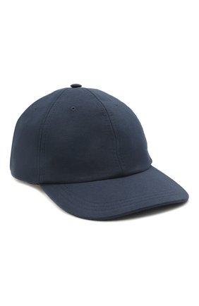 Мужской бейсболка CANALI темно-синего цвета, арт. H041/YA00012 | Фото 1