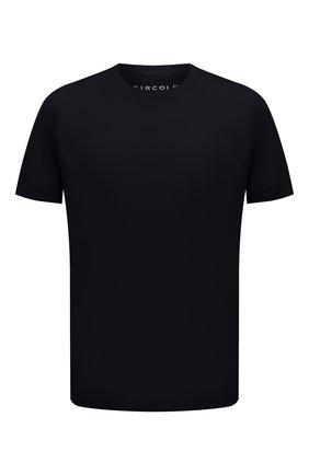 Мужская хлопковая футболка CIRCOLO 1901 темно-синего цвета, арт. CN2966 | Фото 1
