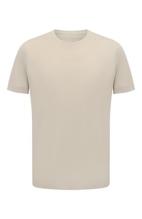 Мужская хлопковая футболка CIRCOLO 1901 бежевого цвета, арт. CN2966 | Фото 1