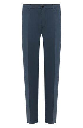Мужские хлопковые брюки ALTEA темно-синего цвета, арт. 2153022 | Фото 1