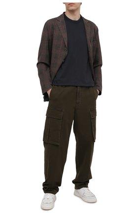 Мужская хлопковая футболка CITIZENS OF HUMANITY темно-серого цвета, арт. MSK500 | Фото 2