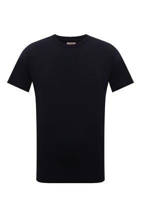 Мужская хлопковая футболка CITIZENS OF HUMANITY темно-синего цвета, арт. MSK500 | Фото 1