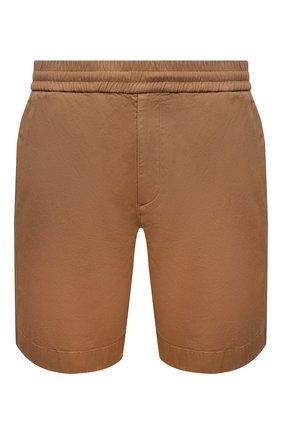 Мужские хлопковые шорты ACNE STUDIOS бежевого цвета, арт. BE0065   Фото 1