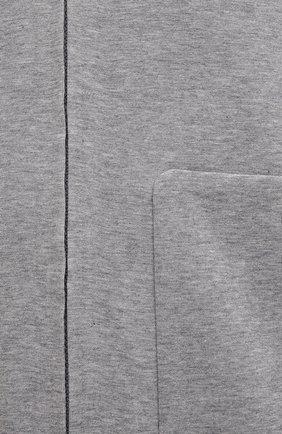 Мужской хлопковая толстовка ASPESI серого цвета, арт. S1 A AY66 L565 | Фото 5 (Рукава: Длинные; Мужское Кросс-КТ: Толстовка-одежда; Длина (для топов): Стандартные; Материал внешний: Хлопок; Стили: Спорт-шик)