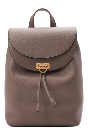 Женский рюкзак SALVATORE FERRAGAMO светло-коричневого цвета, арт. Z-0741418 | Фото 1