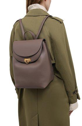 Женский рюкзак SALVATORE FERRAGAMO светло-коричневого цвета, арт. Z-0741418 | Фото 2