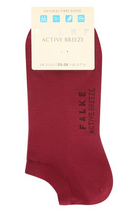 Женские носки active breeze FALKE бордового цвета, арт. 46124 | Фото 1