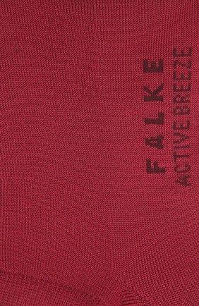 Женские носки active breeze FALKE бордового цвета, арт. 46124 | Фото 2