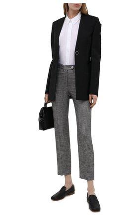 Женские брюки из вискозы KITON серого цвета, арт. D48125K09T11 | Фото 2