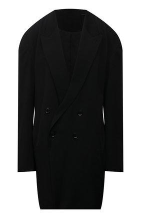 Женский шерстяной жакет Y`S черного цвета, арт. YD-J01-100 | Фото 1