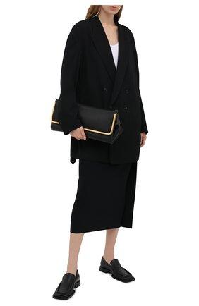 Женский шерстяной жакет Y`S черного цвета, арт. YD-J01-100 | Фото 2