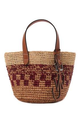 Женский сумка-тоут belt mini JW ANDERSON бежевого цвета, арт. HB0325 PG0542 | Фото 1