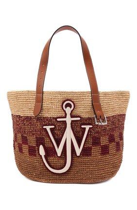 Женский сумка-тоут belt small JW ANDERSON бежевого цвета, арт. HB0333 PG0541 | Фото 1