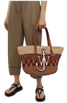 Женский сумка-тоут belt small JW ANDERSON бежевого цвета, арт. HB0333 PG0541 | Фото 2