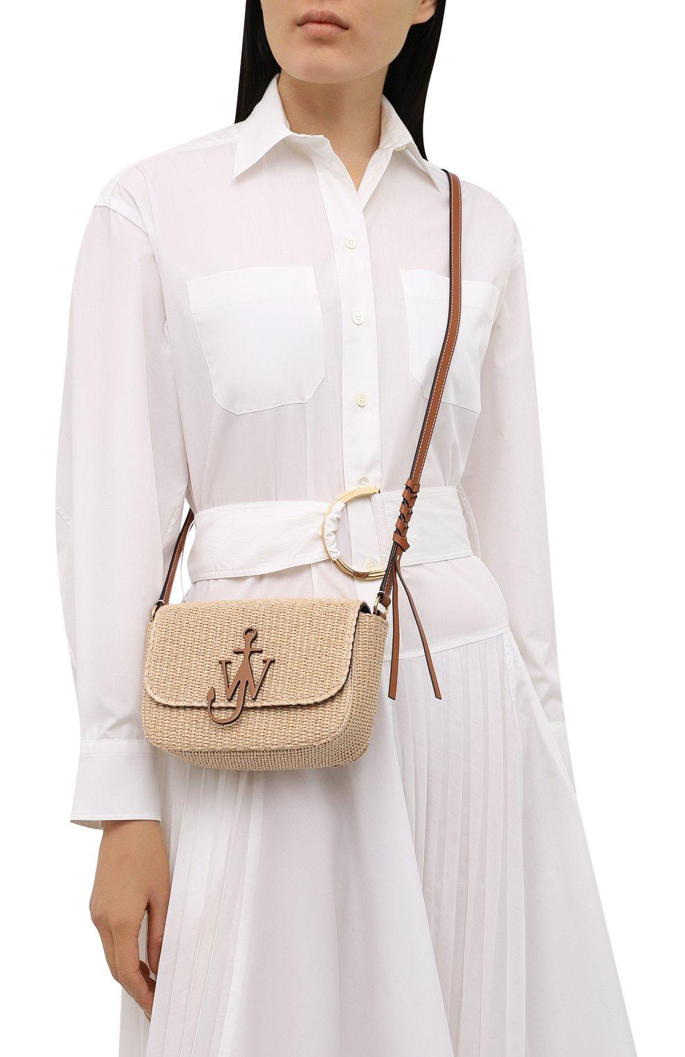 Женская сумка anchor JW ANDERSON бежевого цвета, арт. HB0367 FA0055   Фото 2