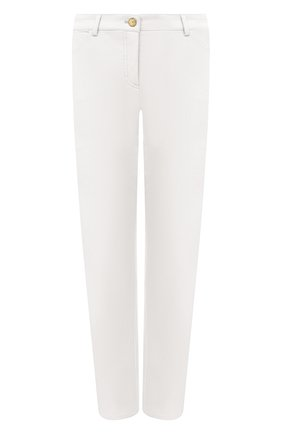 Женские укороченные брюки прямого кроя ESCADA белого цвета, арт. 5024889 | Фото 1