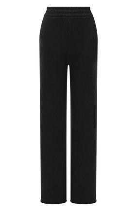 Женские хлопковые брюки ACNE STUDIOS черного цвета, арт. AK0364 | Фото 1