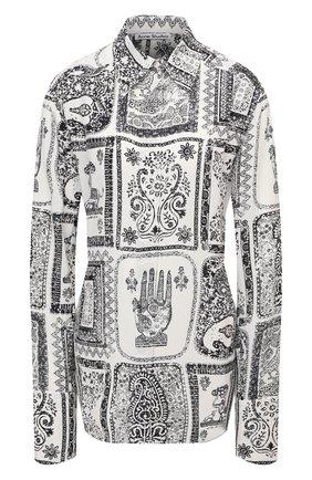 Рубашка из вискозы | Фото №1