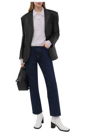 Женский шерстяной пуловер ACNE STUDIOS сиреневого цвета, арт. A60247 | Фото 2