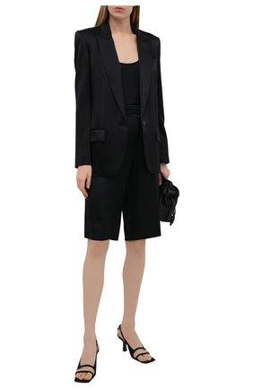 Женский шелковый жакет BARBARA BUI черного цвета, арт. X1203XCA | Фото 2