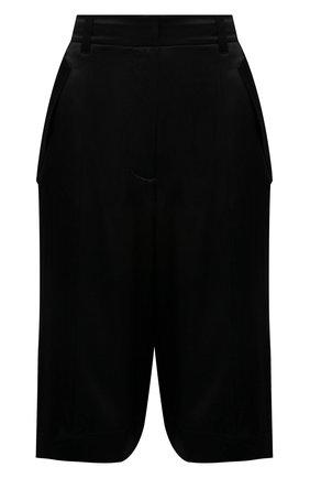 Женские шелковые шорты BARBARA BUI черного цвета, арт. X1651XCA | Фото 1