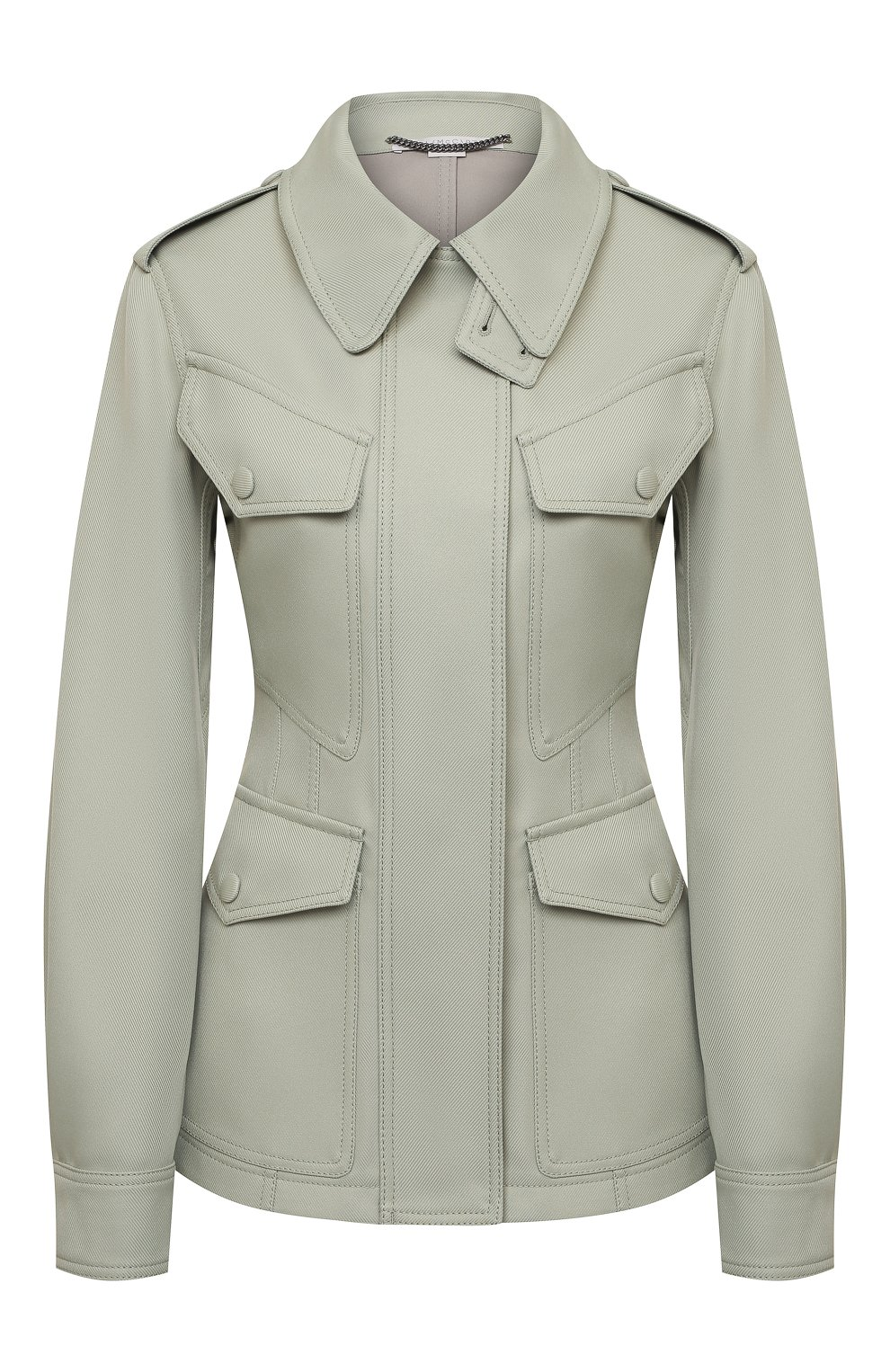 Женская куртка STELLA MCCARTNEY зеленого цвета, арт. 603020/S0A36 | Фото 1