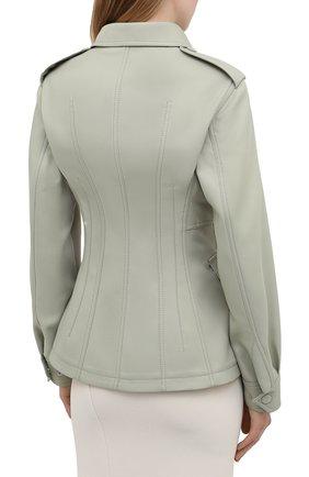 Женская куртка STELLA MCCARTNEY зеленого цвета, арт. 603020/S0A36 | Фото 4