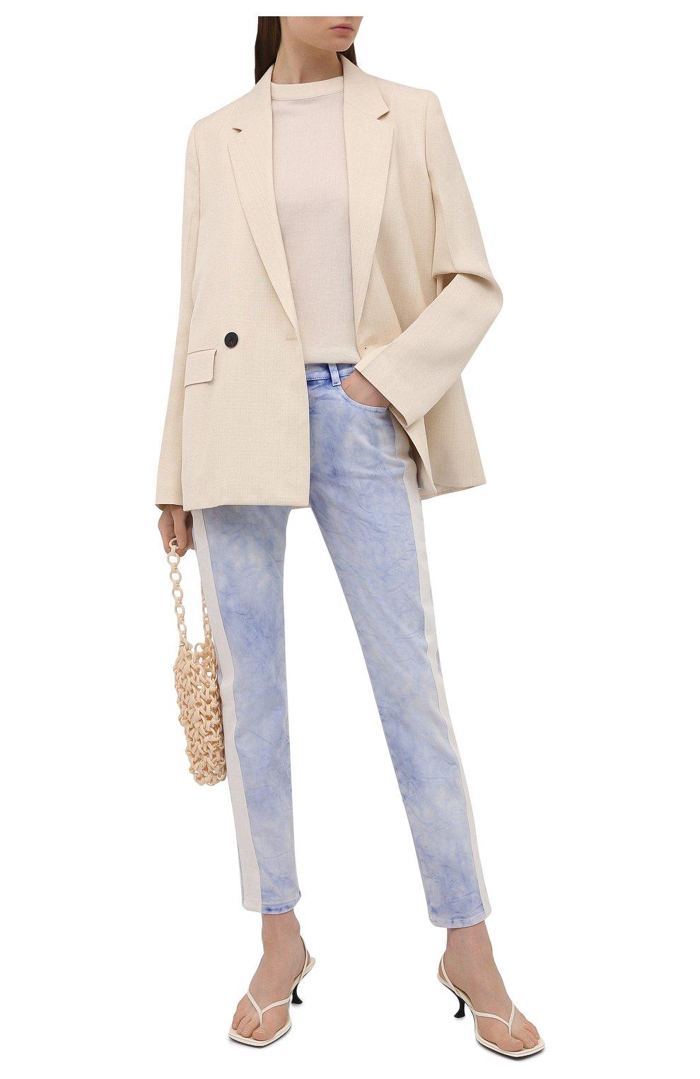 Женские джинсы STELLA MCCARTNEY голубого цвета, арт. 372773/S0H37   Фото 2