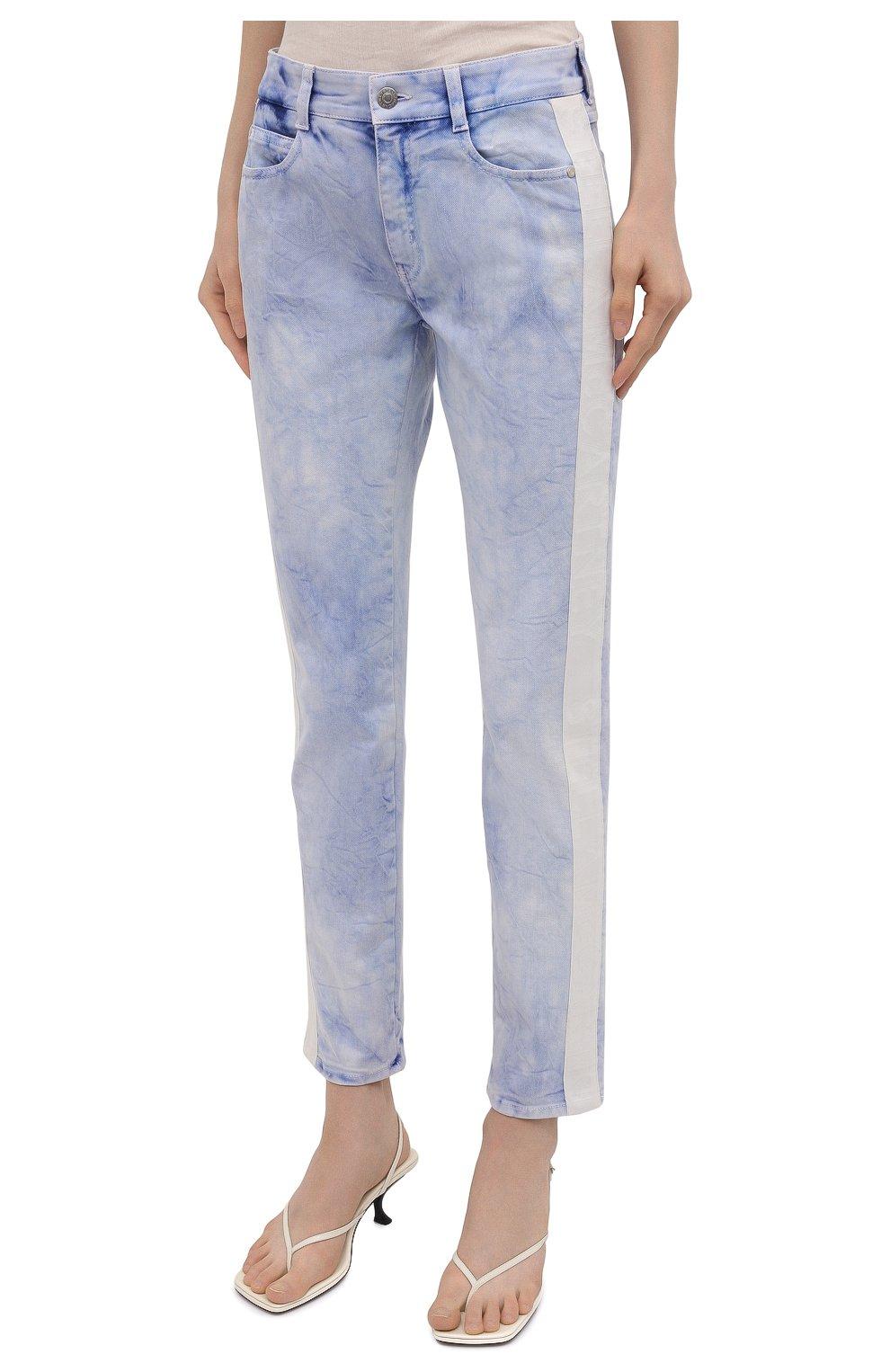 Женские джинсы STELLA MCCARTNEY голубого цвета, арт. 372773/S0H37   Фото 3