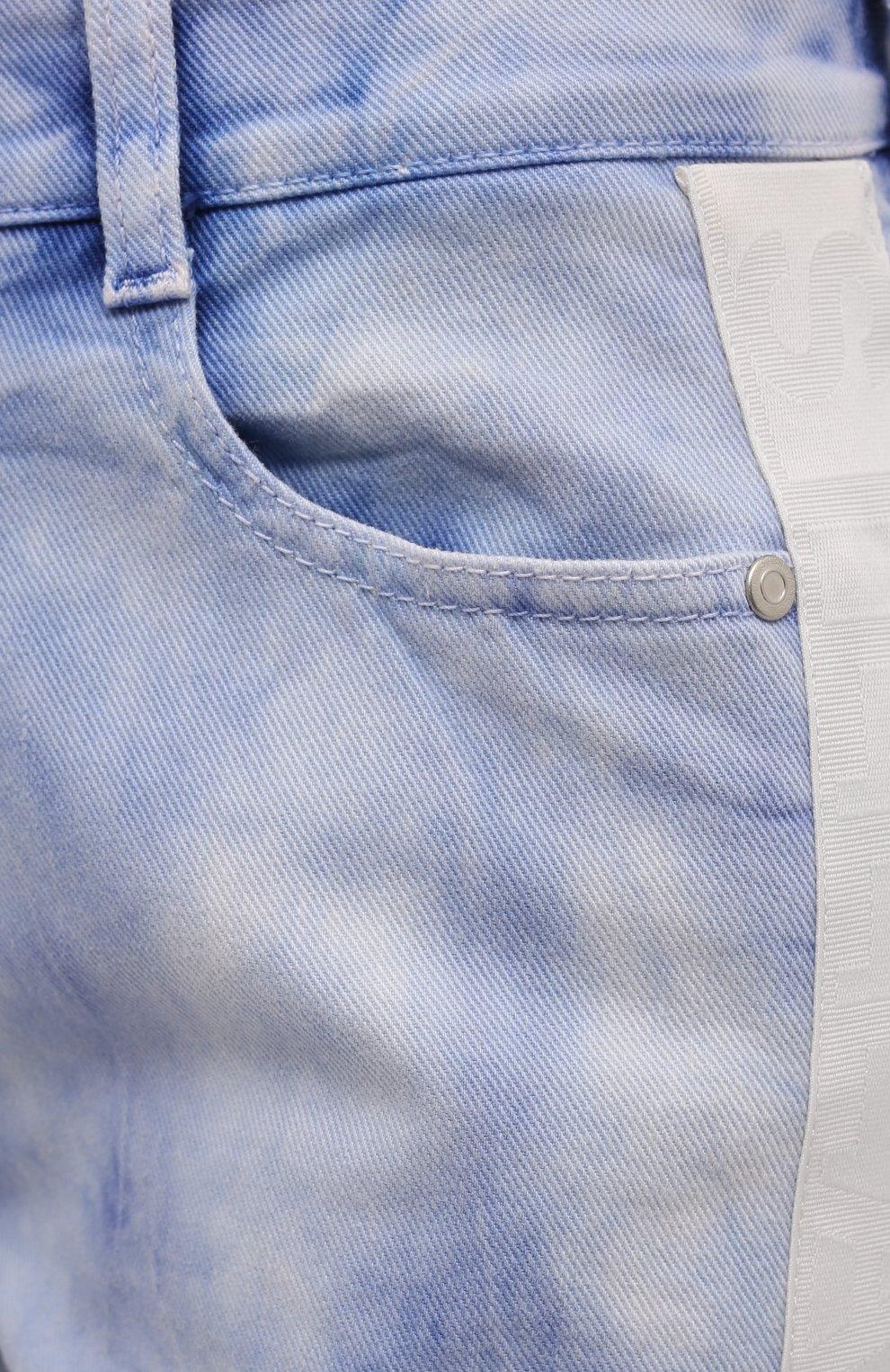 Женские джинсы STELLA MCCARTNEY голубого цвета, арт. 372773/S0H37   Фото 5