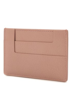 Женский кожаный футляр для кредитных карт TOM FORD розового цвета, арт. S0250T-LG0009   Фото 2
