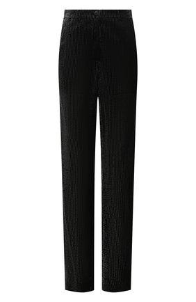 Женские брюки из вискозы EMPORIO ARMANI черного цвета, арт. ANP2PT/A2154   Фото 1