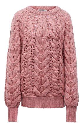 Женский кашемировый свитер BRUNELLO CUCINELLI розового цвета, арт. M52323500 | Фото 1