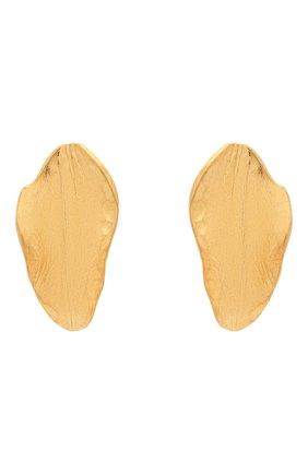 Женские серьги MARNI золотого цвета, арт. 0RMV0269A0/M2000 | Фото 1 (Материал: Металл)