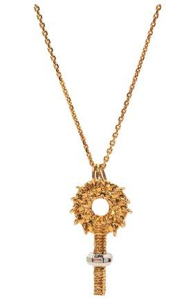 Женская кулон на цепочке femininities CHLOÉ золотого цвета, арт. CHC21UF079CB7 | Фото 2 (Материал: Металл)