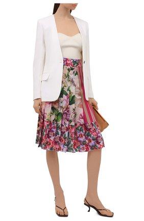 Женская шелковая юбка DOLCE & GABBANA разноцветного цвета, арт. F4B2IT/GDY67 | Фото 2