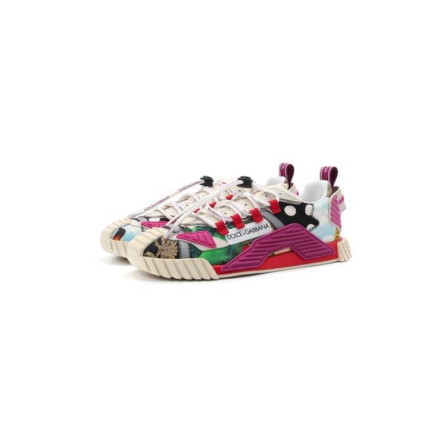 Комбинированные кроссовки NS1 Dolce & Gabbana
