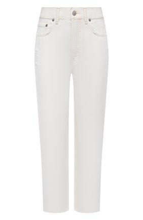 Женские джинсы ACNE STUDIOS белого цвета, арт. A00278   Фото 1