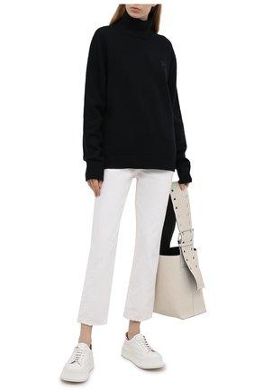 Женские джинсы ACNE STUDIOS белого цвета, арт. A00278   Фото 2