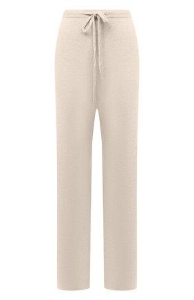 Женские кашемировые брюки EXTREME CASHMERE кремвого цвета, арт. 142/RUN | Фото 1