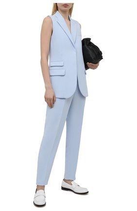 Женский жакет без рукавов BARBARA BUI голубого цвета, арт. X1223XAA | Фото 2